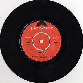 hendrix rotily patrick vinyl/ stone free