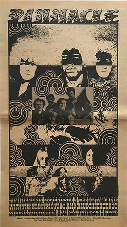 jimi hendrix newspaper/los angeles free press 2/2/68 ad concert  los angeles 10/2/68 shrine auditorium