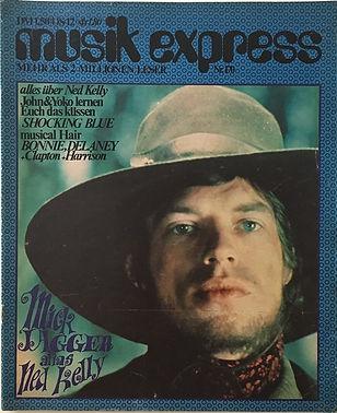 jimi hendrix magazines 1970 /musik express  february, 1970