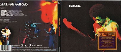jimi hendrix cd family edition/band of gypsys 2010