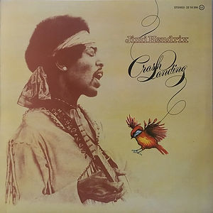 jimi hendrix vinyl album crash landing  1975 / polydor records
