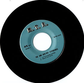 jimi hendrix collector EP/45r/vinyls/side1 little miss lover/bold as love EP thailland MTR records 1969