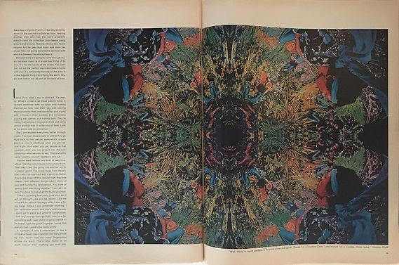 jimi henrix magazines 1969 / life  october 3, 1969/ an infinity of jimis