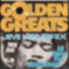 jimi hendrix singles reissue/ 1975 hey joe / golden greats