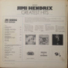 jimi hendrix rotily vinyl collector/greatest hits