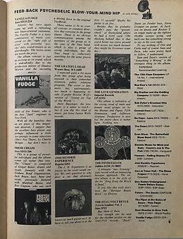 jimi hendrix magazines/paperbag february 1968