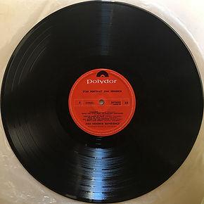 jimi hendrix collector vinyls/ starportrait side 4 /  1971 new zealand