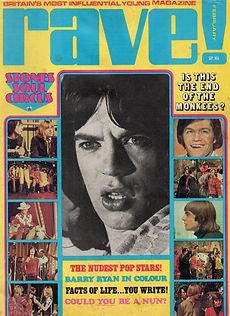 jimi hendrix magazines 1969/ rave   february  1969