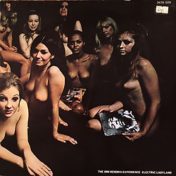 jimi hendrix rotily vinyls collector/electric ladyland holland 1973