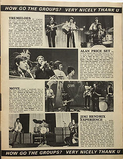 jimi hendrix magazine/new musical express/summer special 1968