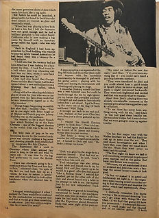 jimi hendrix magazines 1969 /hit parader yearbook 1969 how jimi hendrix began the experience