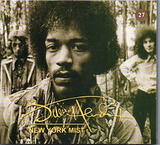 jimi hendrix bootlegs cds 1969/ new york mist