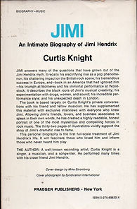 jimi hendrix collector book/jimi by curtis knight 1976