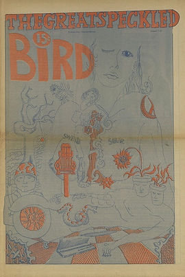 jimi hendrix newspaper/the great speckled bird august 2 1968