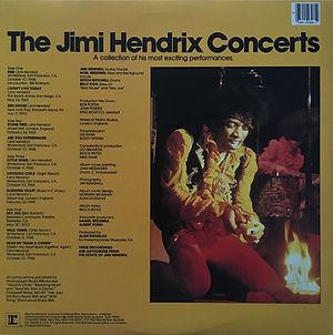 jimi hendrix vinyls album / jimi hendrix concert reprise records