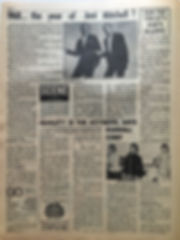 jimi hendrix newspaper/go july 12 1968 majorca pop festival cancelled