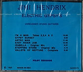 jimi hendrix rotily cd/electric gypsy's
