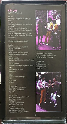 jimi hendrix collector box cd lps/in memoriam live in sweden cds