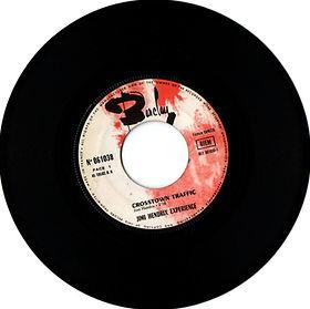 jimi hendrix collector vinyls singles 45t/side A  crosstown traffic