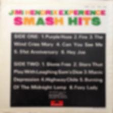jimi henrix rotily vinyl  Smash hits
