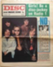 jimi hendrixnewspaper 1968/disc & music echo october19 1968