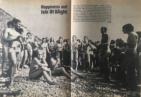 jimi hendrix collector magazines 1970/ pop november 1970 / isle of wight