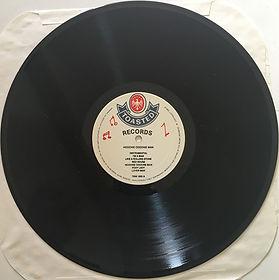 jimi hedrix bootleg vinyl / side a: hoochie coochie man   1985