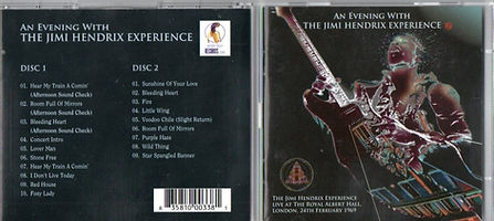 jimi hendrix bootleg cd/ an evening the jimi hendrix experience