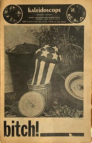 jimi hendrix newspapers 1970 / kaleidoscope  june 26-july 9 1970