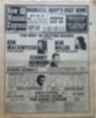 jimi hendrix newspaper/new musical express 30/3/1968