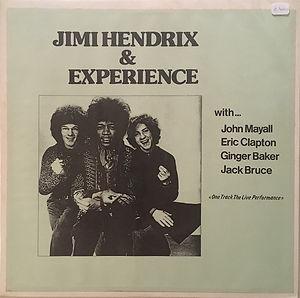 jimi hendrix bootlegs vinyls 1970 / acetate  jimi hendrix/clapton/mayall/bruce/baker