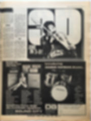 jimi hendrix newspaper 1969/melody maker february 22 1969 jimi in 3d