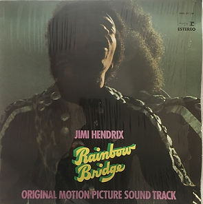 jimi hendrix album vinyls/rainbow bridge 1971 spanish