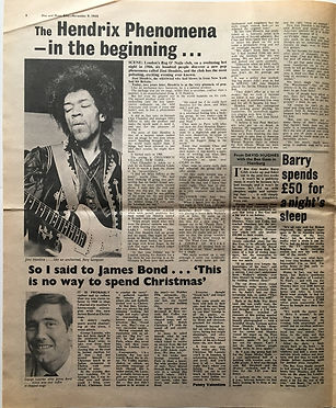 the hendrix phenomena - in the begenning november 9 1968/disc & music echo
