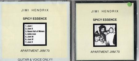 jimi hendrix bootlegs cds 1970 / spicy essence