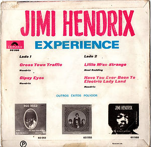 jimi hendrix collector rotily EP singles vinyls/crosstown trafficlittle miss strange have you ever been to electric ladyland polydor EP 1968 portugal