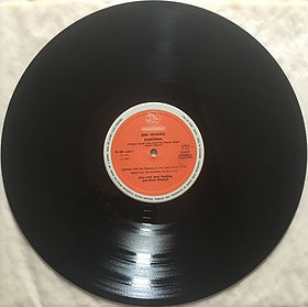 jimi hendrix vinyls reissue / side 1  experience : pellicano  1980