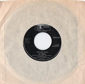 jimi hendrix vinyls singles/track record night bird flying 1971