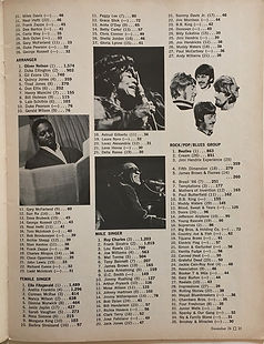 jimi henrix magazine 1969/down beat december 1968
