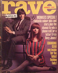 jimi hendrix rotily magazine / rave march 1967