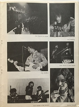 jimi hendrix magazine/sounds july 1968 pop monster konzert in zurich 1968