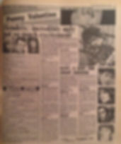 jimi hendrix newspaper 1967/disc music echo march 11 1967