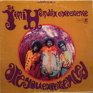 jimi hendrix rotily vinyls lp / 1st edition are you experienced stereo canada 1967