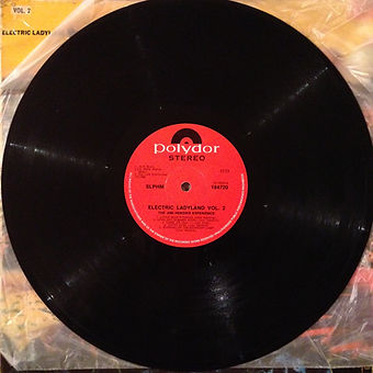 jimi hendrix vinyl album/side 1 vol 2 / electric ladyland south africa
