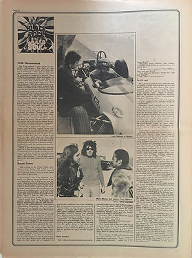 jimi hendrix newspapers 1970 / stange days october 23 - Nov. 6  1970
