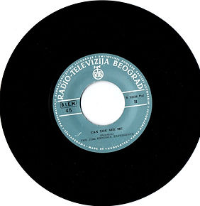 jimi hendrix collector singles 45t vinyls/can you see me  1968 yugoslavia