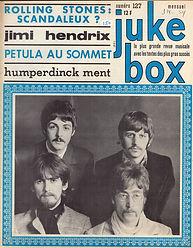 jimi hendix magazine/juke box may 1967