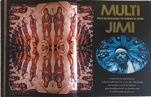 jimi hendrix magazines 1970 / salut les copains september 1970