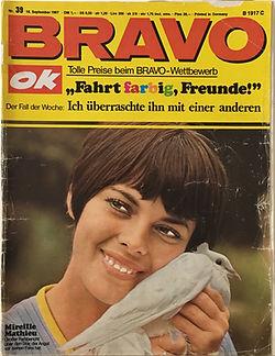 jimi hendrix collector magazines/bravo  N°39/september 1967 jimi hendrix experience german article