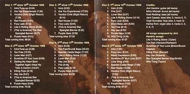 jimi hendrix bootlegs cd/box 6 cd/ 3 nights at winterland